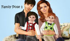 Family Pose Pack by meagansterno - Sims 3 Downloads CC Caboodle