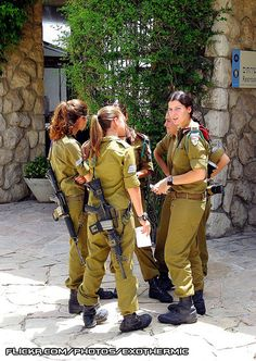 Female Israeli Soldiers