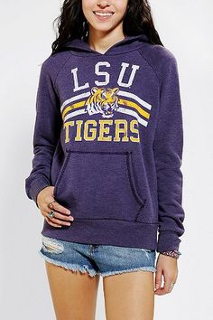 Signorelli LSU Pullover Hoodie Sweatshirt