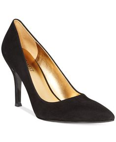 Nine West Flax Suede Pointed Toe Pumps
