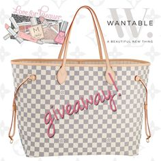 giveaway mania! win a louis vuitton bag plus makeup! ends 1/23/14 at 12 CST. https://www.wantable.com/giveaway/love-for-lacquer-louis-vuitton-giveaway
