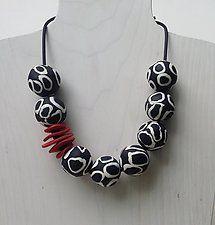 Emma Necklace by Klara Borbas (Polymer Clay Necklace)