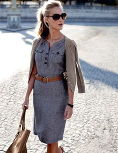 Spring dress, summer dress, fall dress and I would even attempt winter in that with boots & tights