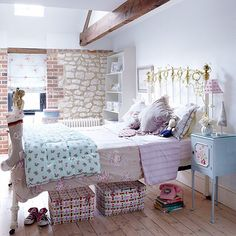 Pastel bedroom | Children's room design ideas | Children's room | PHOTO GALLERY | Country Homes and Interiors | Housetohome.co.uk