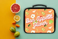 Custom Lunch Box with name personalization Custom Lunch Box, Kitchen Gifts, Kids Boxing, Bon Appetit