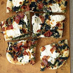 Roasted Garlic White Pizza