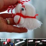 Horse head from thread DIY Yarn Crafts, Diy And Crafts, Crafts For Kids, Arts And Crafts, Christmas Tree Ornaments, Christmas Holidays, Christmas Decorations, Yarn Dolls, Navidad Diy