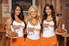 It's funny Hooters webpage has jobs as careers.When I see a 50 year old server