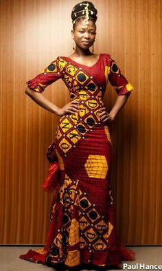 dress clothes african print