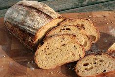 Roasted pumpkin sourdough bread recipe