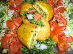 Potato dumpling_ پیراشکی سیب زمینی