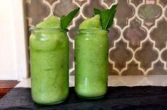 Granité Mojito à réaliser facilement et rapidement chez vous, pour un maximum de fraîcheur dans les beaux jours d'été.