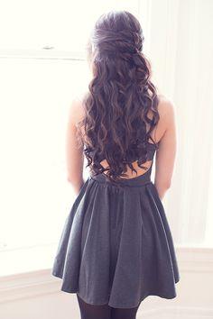 Feminine Hairstyle, wavy hair, long hair, beautiful hair More