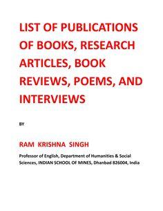238077602 list of publications professor r k singh