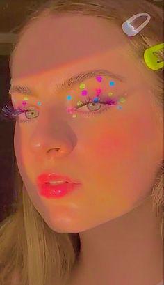 Cute Makeup Looks, Makeup Eye Looks, Eye Makeup Art, Pretty Makeup, Eyeshadow Makeup, Beauty Makeup, Indie Makeup, Edgy Makeup, Makeup Inspo