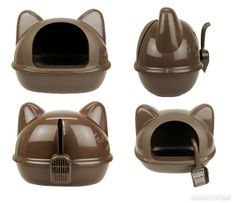 For those wanting a cute litter tray for your moggy, this might be it. As well as featuring adorable ears, there's a litter scoop on the back that resembles a tail!