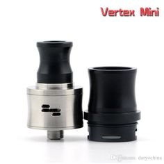 Atomizer Best 2015 Newest Mini Vertex Styled Rda Rebuildable Dripping Atomizer Silver High Quality Electronic Cigarettes Atomizer Refillable Perfume Atomizers From Daryochina, $8.65  Dhgate.Com Rda Atomizer, Perfume Atomizer, Vape Art, Electronic Cigarettes, Mugs, Cool Stuff, Tableware, Silver, Life