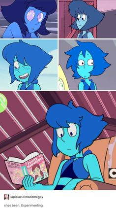 Why Lapis's hair has been changing!
