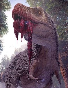 Gore Pack for Tyrannosaurus Rex 2 is a prehistoric animal, animals for Daz Studio or Poser created by Herschel Hoffmeyer. Raptor Dinosaur, Dinosaur Art, Face Off, Art And Illustration, Feathered Dinosaurs, Memes Arte, Dinosaur Coloring Pages, Beast, Jurassic Park World