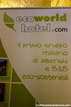 Hello, Italy! At Eco Hotel La Residenza was absolutely delightful in Milan, Italy! Complete with an on-site organic restaurant http://ourfavoriteadventure.com