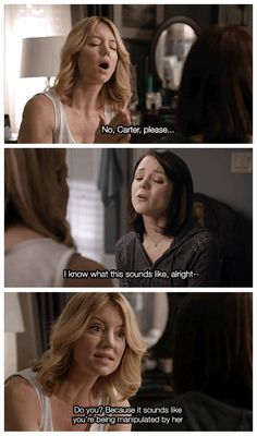 "#FindingCarter 2x04 ""Pretty When You Cry"" - Elizabeth and Carter"