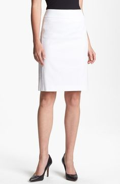 c507aaa077 Stretch Cotton Skirt - Lyst Balenciaga Top