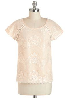 The Grace of Lace Top, #ModCloth
