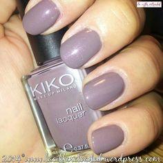Kiko Nail Lacquer Col. 512 Rosa Tortora Metallico
