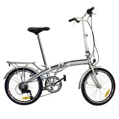 """Best Choice Products Shimano 6 Speed Bike Fold Storage Folding Bike, 20\""""/One Size, Silver ** Learn more by visiting the image link."""