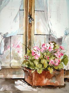 Karen Martin Watercolor