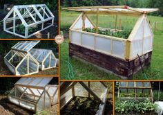 Extend your growing season with this DIY mini greenhouse! Learn how it's made by viewing the full album of the project now at http://theownerbuildernetwork.co/3r98 Is this the next project for your garden?