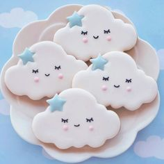 Sleepy clouds ☁️ #cookietutorial