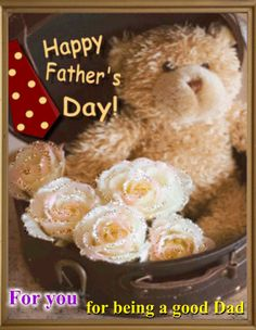 Send this beautiful card on Father's Day. Free online Flowers For Father's Day ecards on Father's Day Happy Dad Day, Happy Fathers Day, Happy Mothers, Flowers Online, Photo Quotes, Best Dad, African Fashion, Ecards, Plush