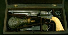 Fancy Engraved Colts | 1860 Colt