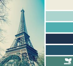 """Lets do Paris"" with paris tones from Design Seeds® 