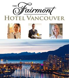 The Fairmont Hotel Vancouver British Columbia Careers And Hospitality Employment Opportunities