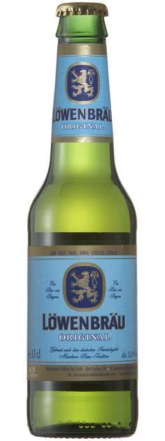 Löwenbräu Es una cerveza alemana de estilo Münich Helles Lager. De color dorado con un leve sabor amargo y refrescante. Alcohol 5,2%