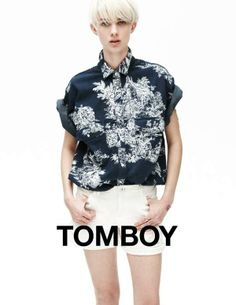 Layered Androgynous Fashion - The Tomboy Spring 2013 Campaign Stars a Nonchalant Harmony Boucher (GALLERY)