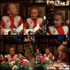 merry christmas (Hayden Panettiere as a very young Child)