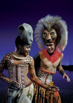Simba and Nala...