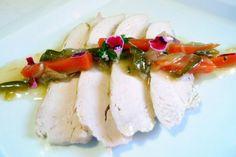 Pechuga de pollo en escabeche de manzanilla - El Aderezo - Blog de Recetas de Cocina