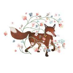 Hiding Fox by Anna Emilia Laitinen