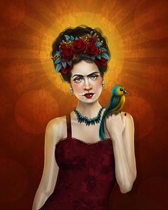 aunia_kahn_frida_digital_canvas_original_art.jpg (640×800)