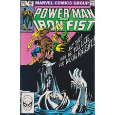 POWER MAN AND IRON FIST #87 | 1981-1986 | VOLUME 1 | MARVEL | November 1982 | $4.50