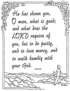 isaiah and micah coloring pages | Kids Bible Worksheets-Free, Printable The Prodigal Son ...