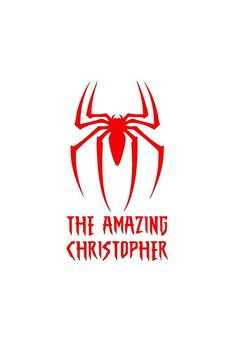 "8"" x 11"" Personalized Spiderman Superhero Wall Sticker Decal"