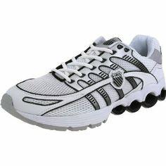 K Swiss Super Tubes Run 50 Mens Running sneakers / Shoes  White :Disclosure :Affiliate Link