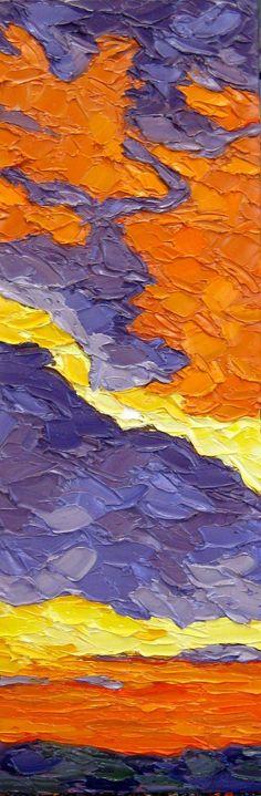 A Break in the Clouds: Jeff Ferst: Oil Painting - Artful Home