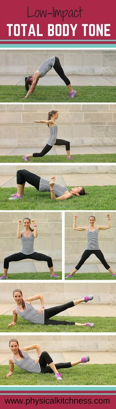 A workout designed to ease stress on your joints while sculpting and toning your entire body