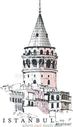 http://www.dollarphotoclub.com/stock-photo/Galata Tower Drawing/51316347 Dollar Photo Club millions of stock images for $1 each